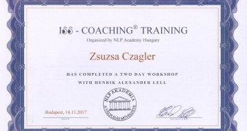 Czagler Zsuzsa, Coach