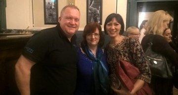Az Aspirin Business solution vezetőivel, Susannah Brade-Waring and Heath-Waringgal