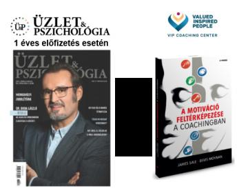 Üzlet & Pszichológia magazin előfizetés, most ajándék könyvvel! 2019