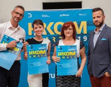 HRKOMM Award díjátadó  <br> 2019