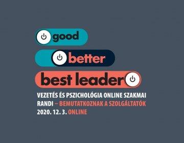 Vezetés és pszichológia online szakmai randi 2020